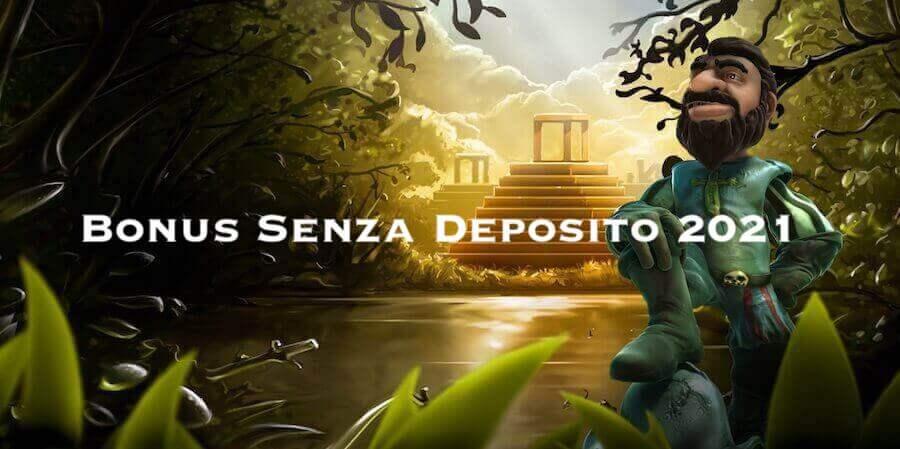 Bonus di Benvenuto senza deposito
