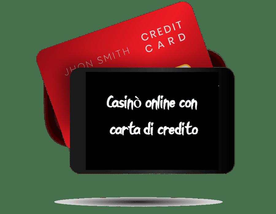 Casinò online con carta di credito